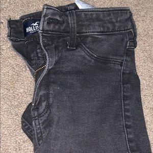Black Hollister high rise Jeans
